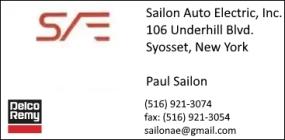 Sailon Auto Electric